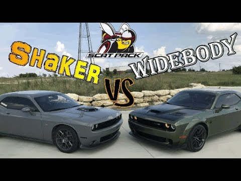 Does the 2019 Challenger Scatpack Shaker make more power?