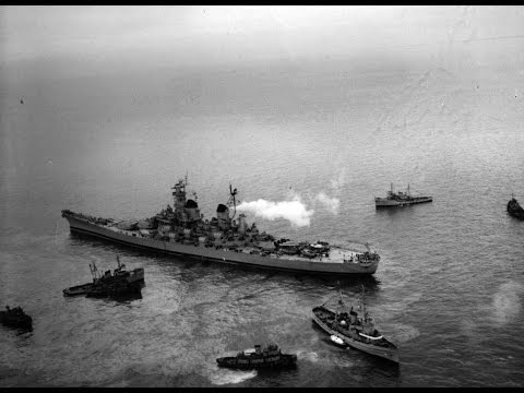 USS Missouri - The World At War (1944-1950)