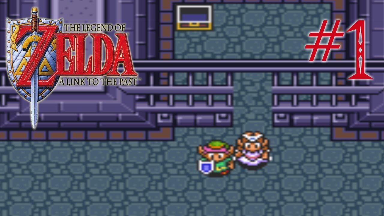 [Detonado Completo 100%] Zelda: A Link to the Past #1 - O CHAMADO PARA UM  NOVO HERÓI!