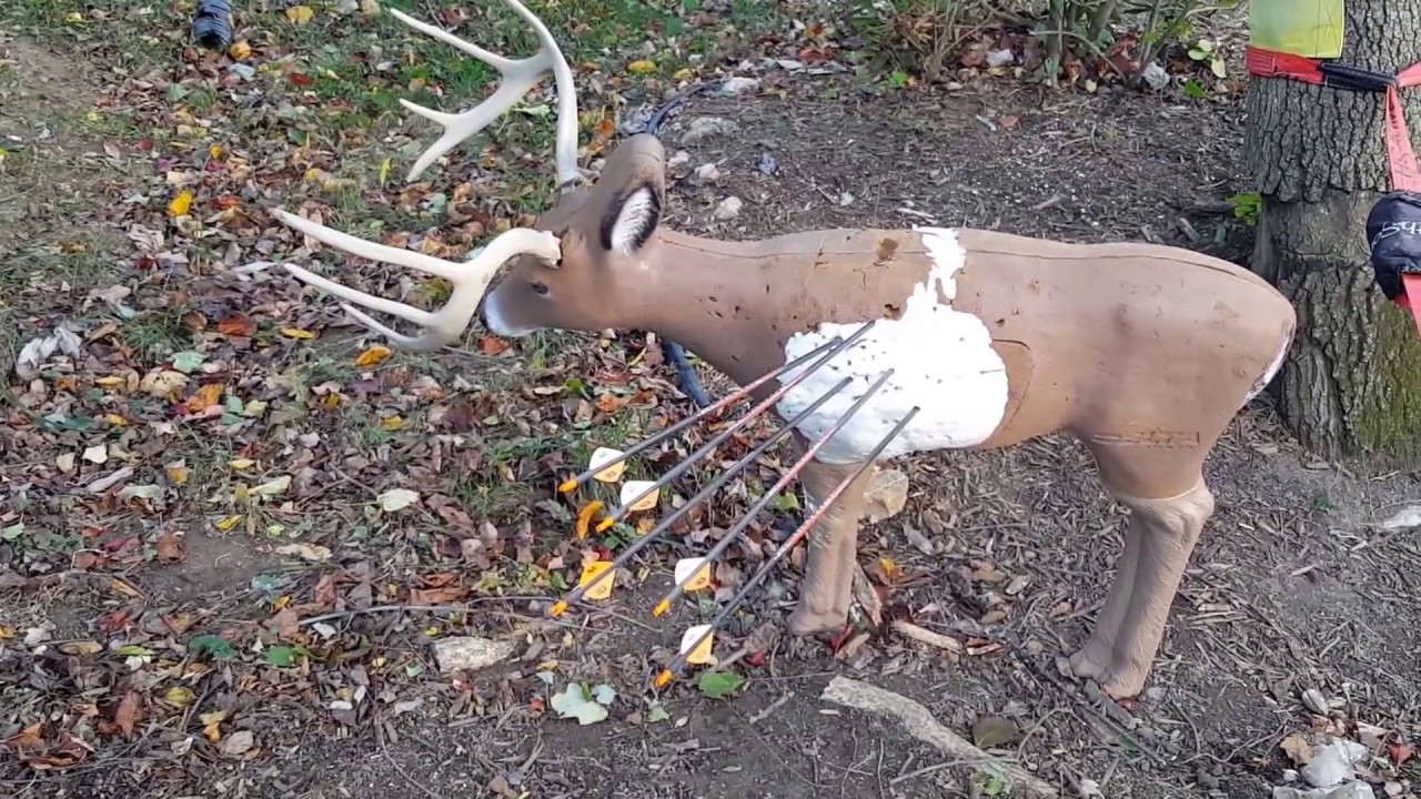3D Archery Target Deer Repair with LocTite Home Insulation ...