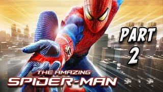 The Amazing Spider-Man Walkthrough - Part 2 [Chapter 2] Escape Impossible Let's Play PC XBOX PS3
