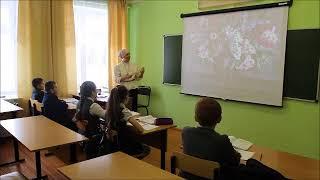 Урок русского языка по развитию речи в 5 классе на муниципальный тур конкурса