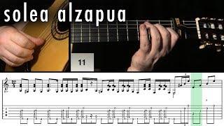 Flamenco Guitar 102 - 03 Solea Alzapua