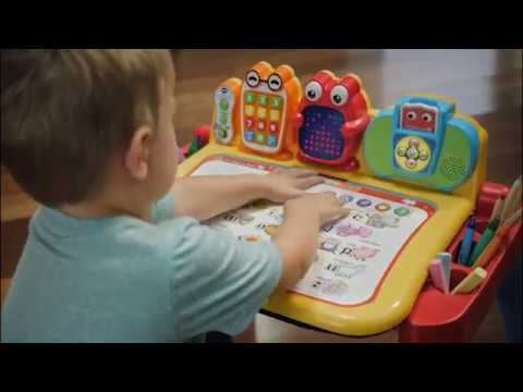 Vtech Touch Amp Learn Activity Desk Deluxe Tv Commercial