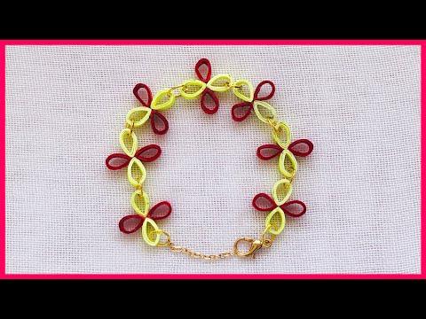 How To Make Paper Bracelet   Paper Bracelet Tutorial