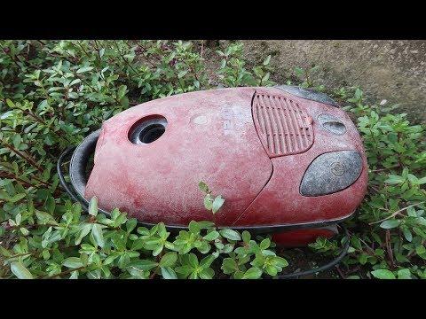 Old Vacuum Cleaner Restoration  - Step By Step Restoration