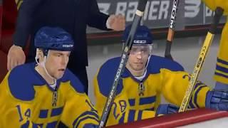 NHL 06 - 2005 - Russia  VS  Sweden (PC)