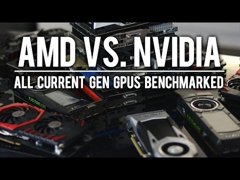 AMD vs. Nvidia: All Current Gen GPUs Benchmarked [16 New Games]
