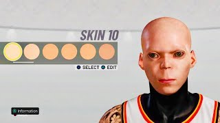 *NEW* ALIEN FACE CREATION IN NBA 2K19 👽 NEW TAZ FACE IN 2K19 #2k20 #2k20news