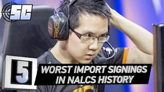 5 Worst Import Signings in NALCS History | LoL eSports