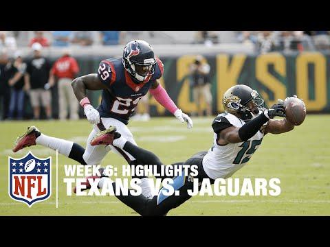 Texans vs. Jaguars | Week 6 Highlights | NFL