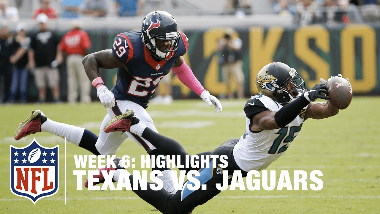 Awesome Texans Vs. Jaguars | Week 6 Highlights | NFL   YouTube