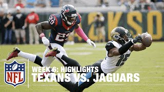 Texans vs. Jaguars | Week 6 Highlights | NFL
