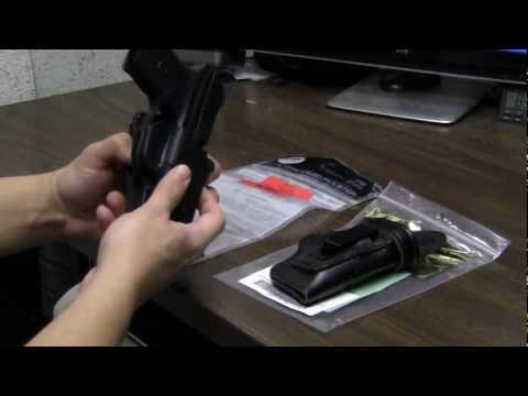 Ruger LC9 Fobus paddle holster