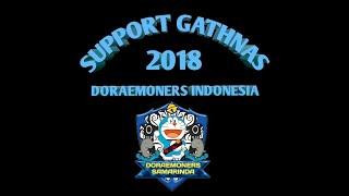 Support Gathnas Doraemoners indonesia regional Samarinda (meet and greet dubber doraemon DKK)