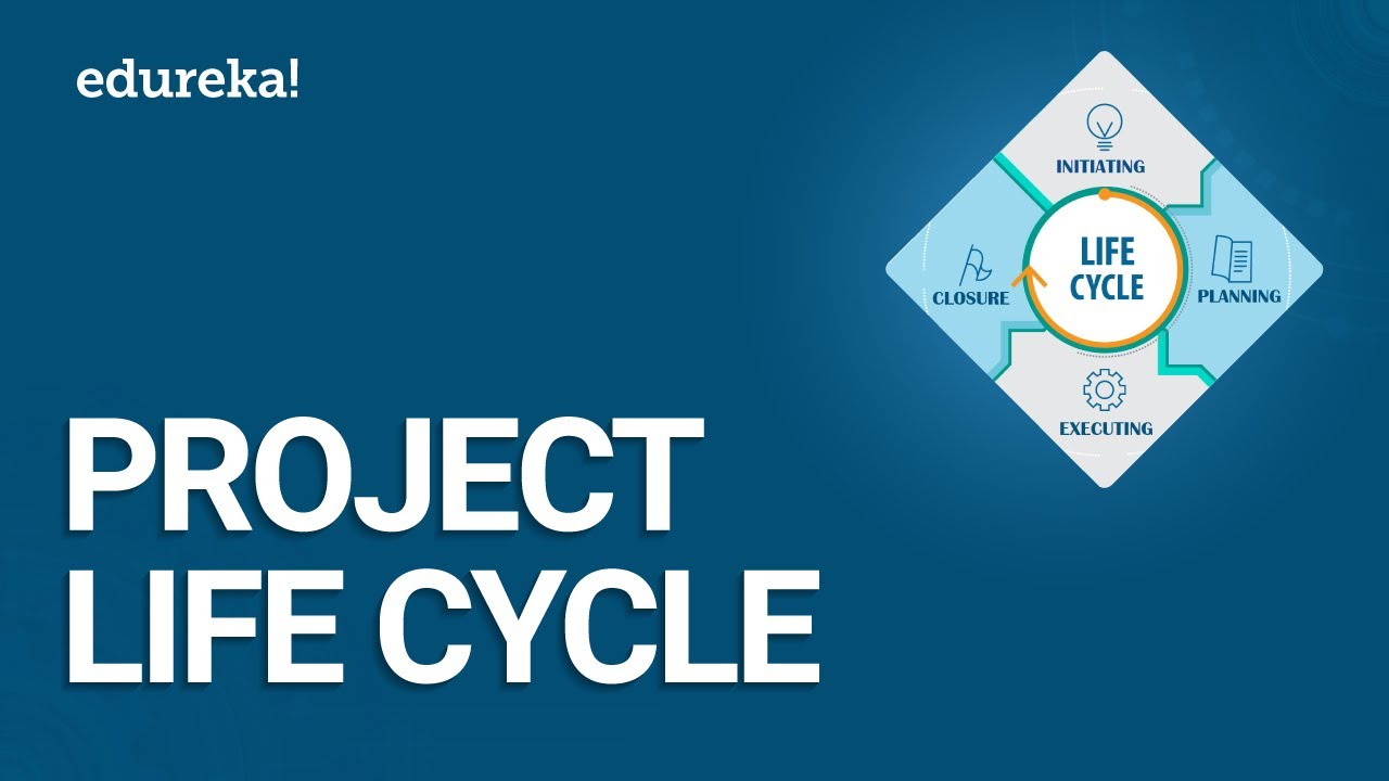 Project Life Cycle | Phases of Project Management Life Cycle | PMP Certification Training | Edureka