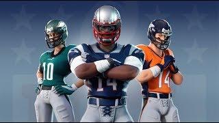Fortnite |Skins de Football Americano!!!Road to Lvl 100 del battle pass amigos  y con subs!!