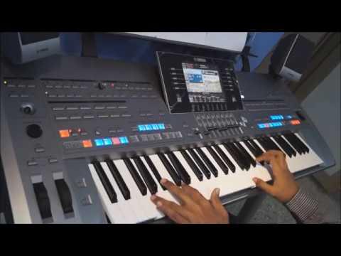 Tyros 5 - Earth Song (Instrumental) cover - Michael Jackson