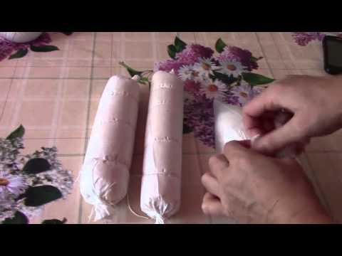 VLOG: Домашняя вареная колбаса.Готовить одно удовольствие.