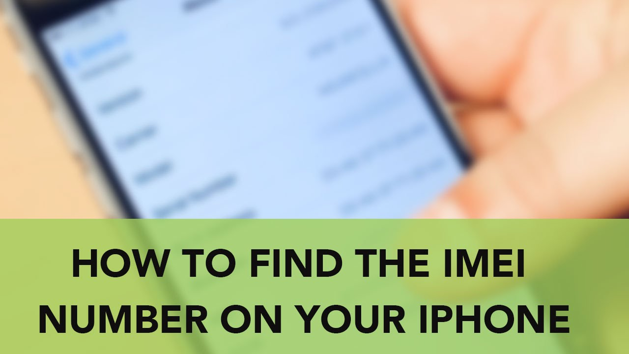 how to find my number on iphone how to find the imei number on your iphone 20052