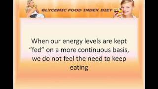 Glycemic Index Benefit Weight Loss