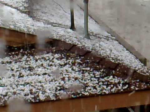 Hail in Baldwin Park-May 2008-Part2