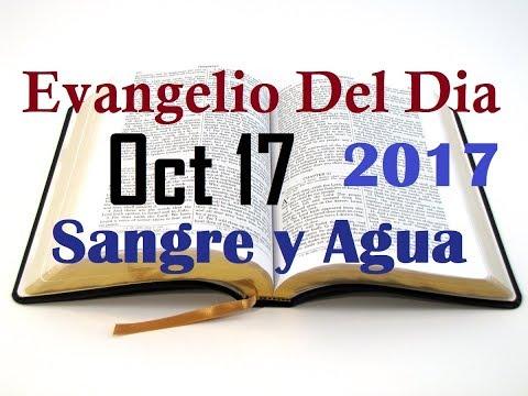 Evangelio del Dia- Martes 17 Octubre 2017- Limpian Lo Exterior- Sangre y Agua