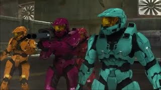 Repeat youtube video Red vs. Blue: X Gon' Give It To Ya (Action Montage)