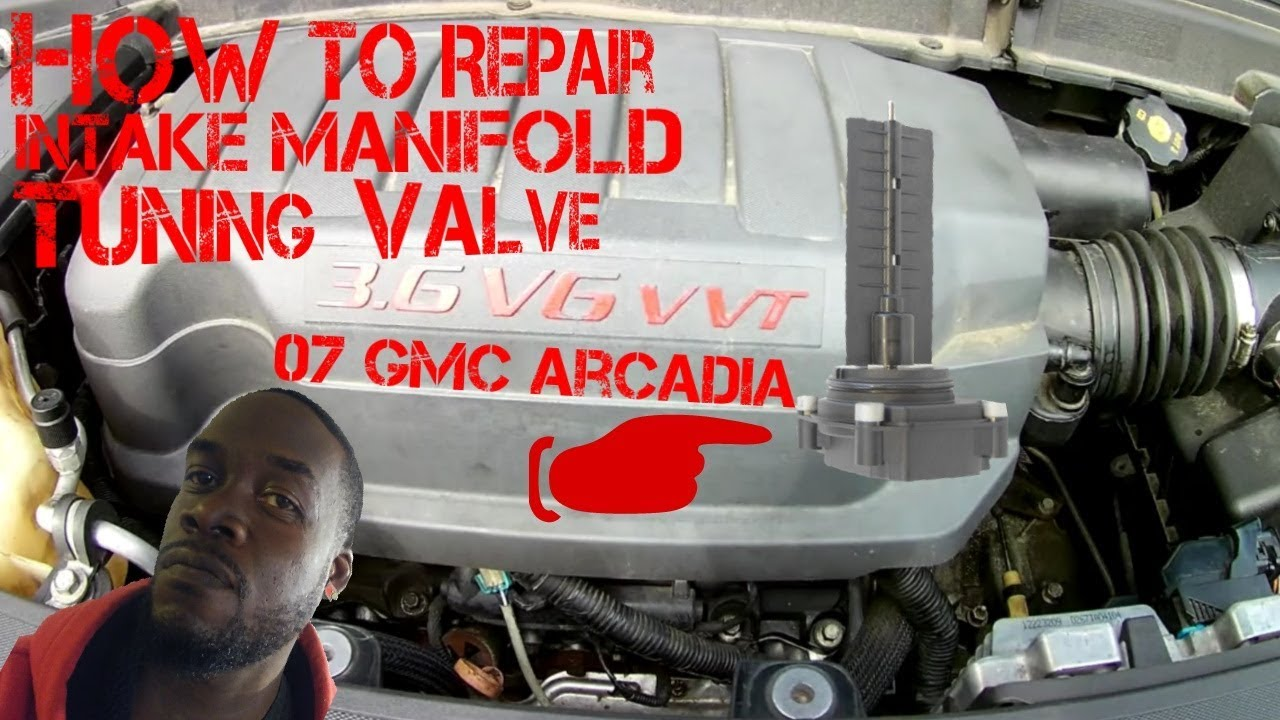 How To Replace Intake Manifold Tuning Valve 2007 GMC ...