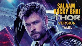 KGF THOR VERSION | SALAAM ROCKY BHAI | HD