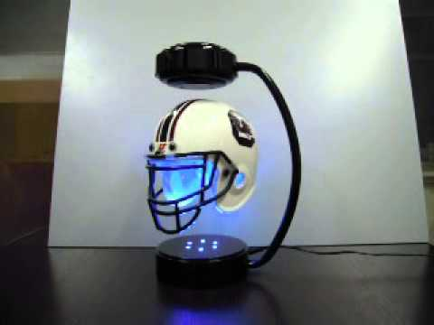 Magnetic Helmet Floating Display Stand Youtube