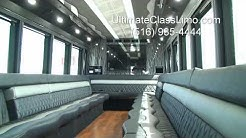 limousine bus Long Island New York (NY) Ultimate Class Limo