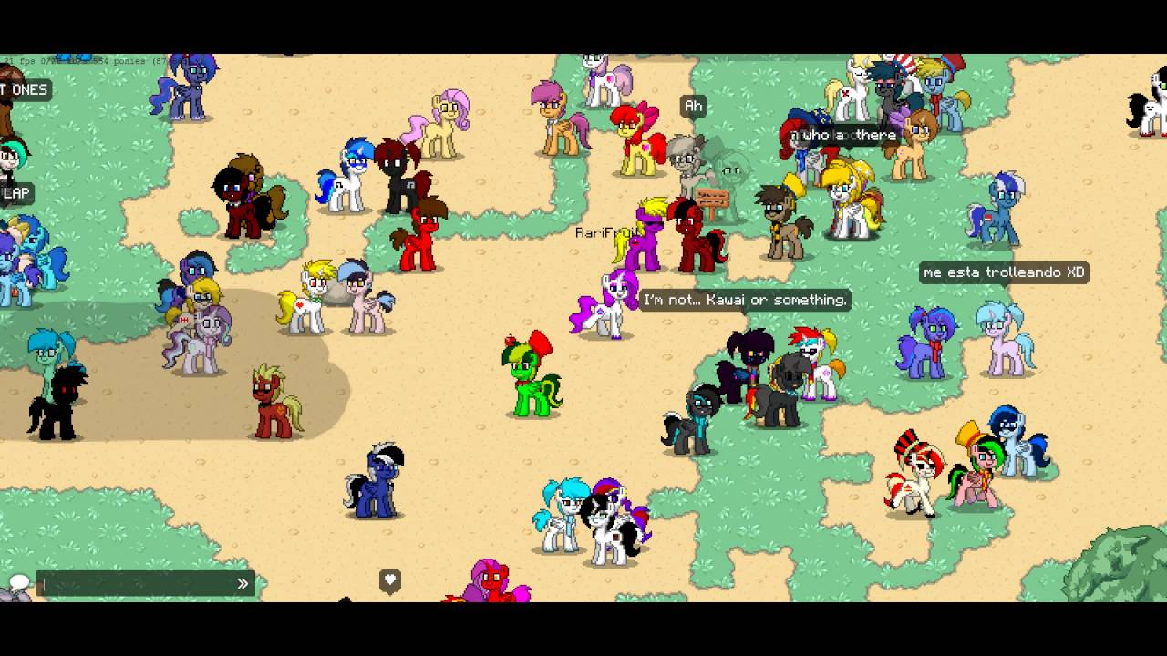 Pony Town Gameplay Mlp Game Youtube