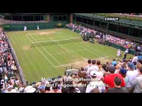 Mahut isner interieur sport youtube for Interieur sport canal plus
