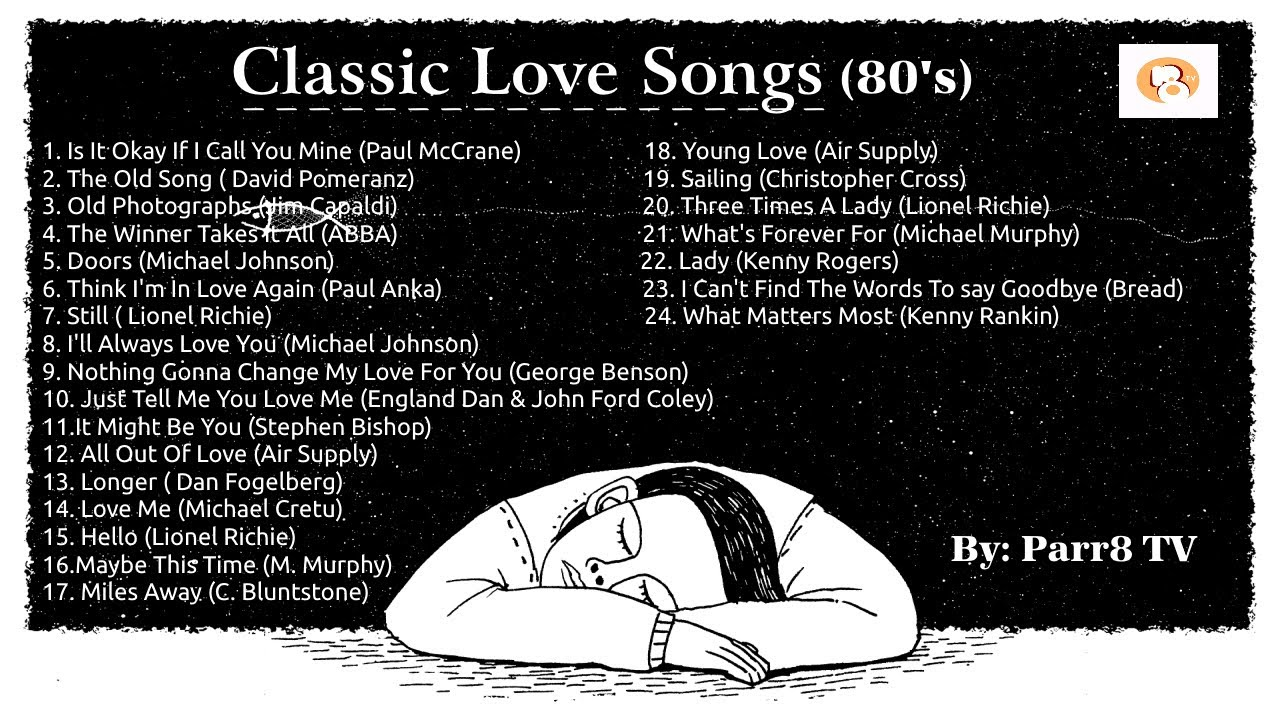 Download Classic Love Songs 80's