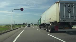 新湊大橋西交差点~国道472号・富山県道44号交点[射水市]