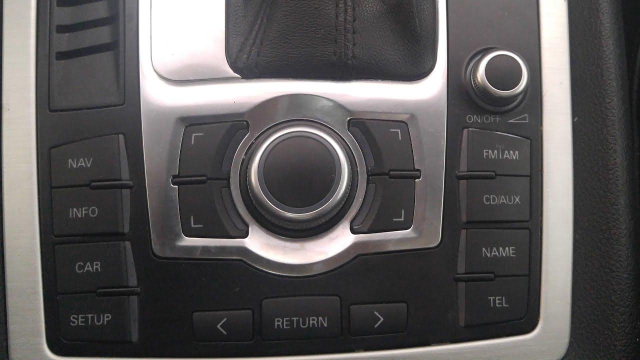 audi q7 mmi board control module replacement and fix e380 [ 1280 x 720 Pixel ]