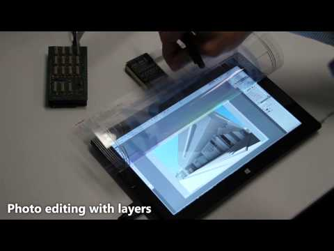 FlexSense: A Transparent Self-Sensing Deformable Surface
