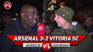 Arsenal 3-2 Vitoria SC | Martinelli Has To Play Against Crystal Palace! (Lee Judges)