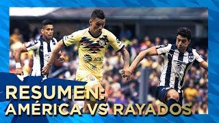 Club América 4 - 2 Monterrey   Resumen   Todos los Goles   Liga MX - Apertura 2019 - Jornada 1