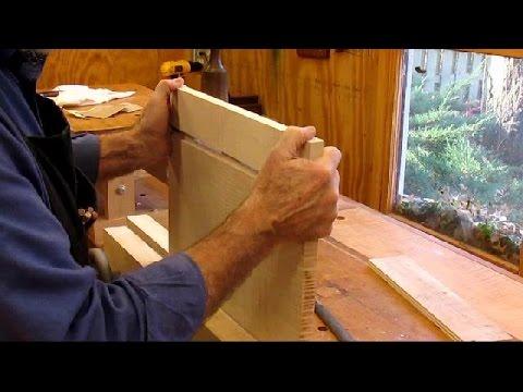 19th Century Clerks Desk   Breadboard Ends & Bottom Step 5