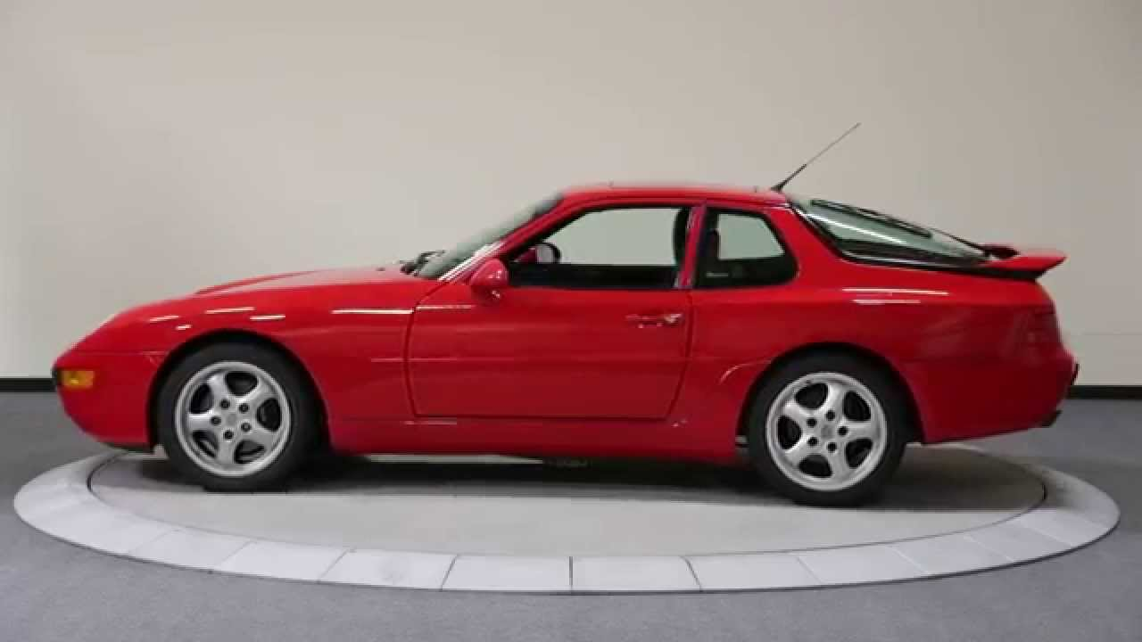 1994 porsche 968 coupe - youtube
