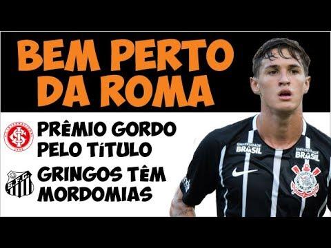 Valores da negociação entre Timão e Roma por Mateus Vital / Bicho do Inter / Mordomias no Santos