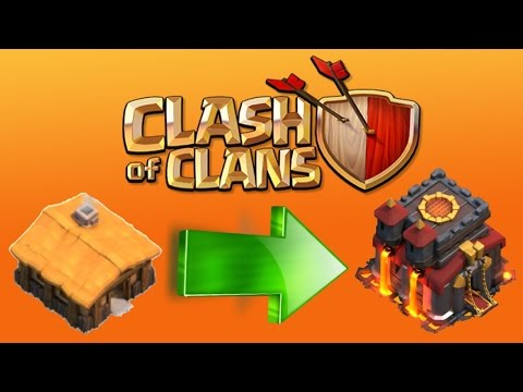 Clash of Clans - HOW MAX TOWN HALL EASY! Simple Village Upgrade Tips/Tricks! Rank Up!