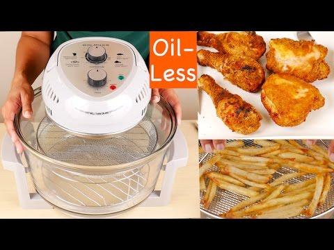 BIG BOSS 1300-Watt Oil-Less Fryer, 16-Quart Review