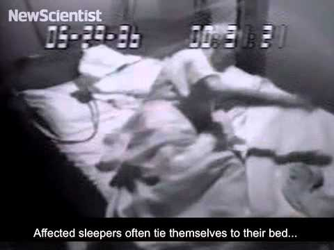 Sleep disorder makes people act out their dreams