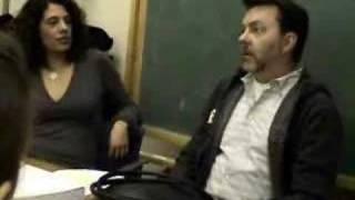 Alan Ball speaks at Wellesley College