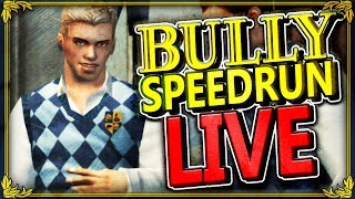 """BULLY SPEEDRUN! - """"HOW MANY TIMES HAVE YOU BEATEN THIS GAME?!"""" (2h 45m 1s)"""