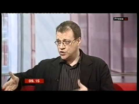 Russell T Davies on BBC Breakfast - March 2005