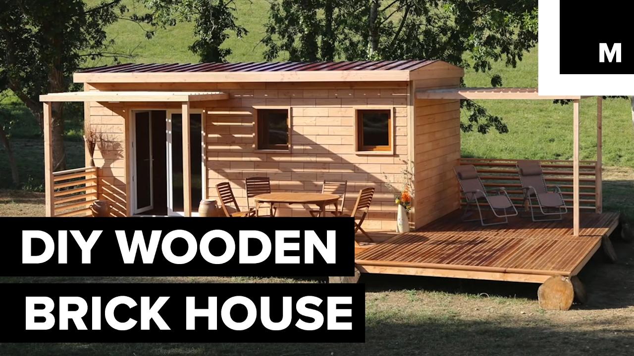 DIY Wooden Brick House